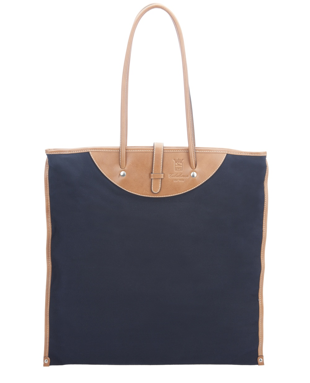 Calabrese Rotolo canvas tote bag – rolls up to pack easy