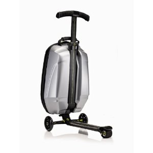 Luggage Scooters – Bags that carry you, too!