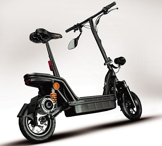 TP Scoot Maximillian Folding Electric Scooter