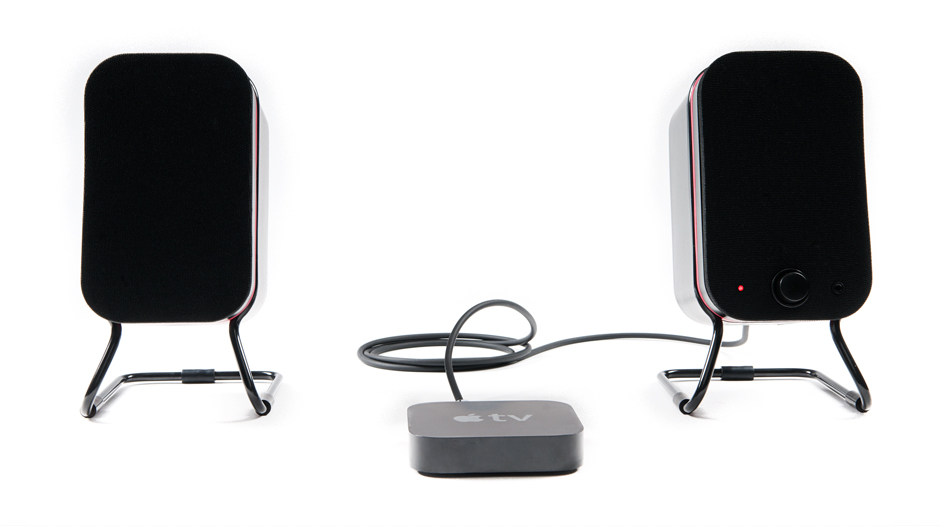 Audyssey Powered Speakers with optical audio input
