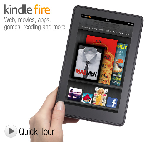 Amazon Game Changer? Kindle Reloaded + Kindle on Fire