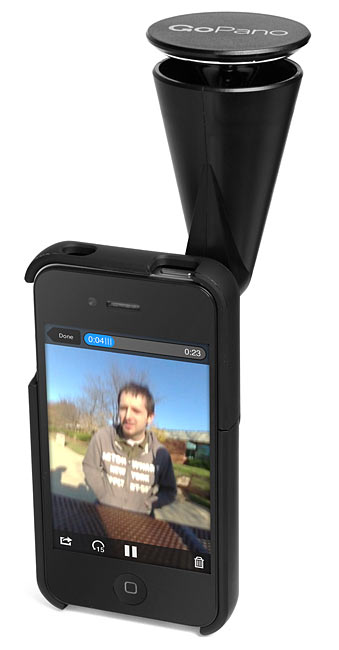 GoPano 360 Degree Video Recording for iPhone