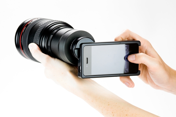 PhotoMojo iPhone 4 SLR Lens Mount