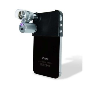 Mini Microscope Mount for iPhone 4