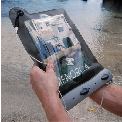 Waterproof your iPad with Submersible & Sandproof iPad Case from Aquapac