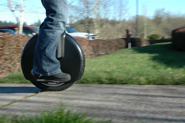 Solowheel – forget the fold-up bicycle