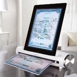 iScanner – portable scanner for iPad