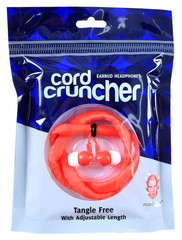 Cordcruncher Earbuds – No More Tangles