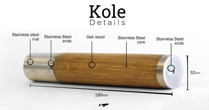 The Kole Thermos Flask Dimensions